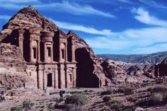 https://flic.kr/p/2az157 | The monastery at Petra | A long walk up but like the place, something to see - Petra, Jordan