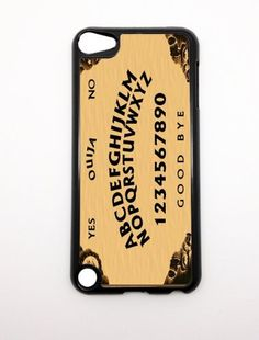 Apple iPod Touch iTouch 5G 5 5th Gen Generation Ouija Board Design BLACK SIDES Slim HARD Case Skin Cover Protector Mobile MP3 Player Accessory Vintage Retro Unique Case Cartel by CaseCartel, http://www.amazon.com/dp/B00B3BYX3A/ref=cm_sw_r_pi_dp_Drn.qb0TRMXBK