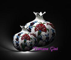 ceramic pomegranates