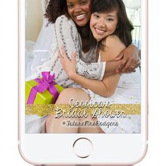 Custom Gold and Glitter Snapchat Geolfilter. Bridal Shower Custom Snapchat Geofilter | W H Y C H O O S E B E A U T I F U L L Y F I L T E R E D ? |  The difference between choosing Beautifully Filtered to create your next Snapchat Geofilter versus the other guys is because I give the customer little to no requirements when creating the design. The photos you see in my shop are simply ideas, examples, or designs that have already been approved by Snapchat and used.  If you want a red, white…