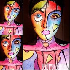 Awesome Picasso makeup