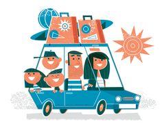 Holiday illustration on Behance