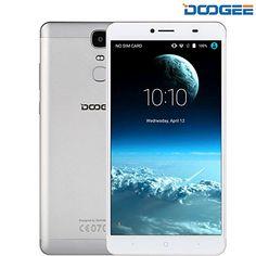 DOOGEE Y6 MAX Dual SIM -  Android - Schermo 6.5 Pollici FHD Sharp - 4G Octa-Core - 4300 mAh - 3GB RAM + 32GB ROM - 5MP + 13MP Fotocamera e Intelligente Gesture - Argento
