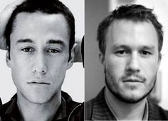 10 Celebrities Who Look Exactly Alike - Suggest.com. Joseph Gordon-Levitt and Heath Ledger.  Unfortunately, the world lost Heath Ledger in 2008. However, actor Joseph Gordon-Levitt is thankfully still with us, and his resemblance to the late Oscar-winner is striking. Both actors entertained us in the most recent Batman franchise.