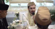 Saling Berbalas Caption Di Video Pernikahannya, Farhad Dan Hamidah Saling Janji Setia