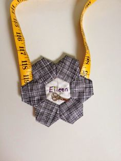The Jersey Shore Modern Quilt Guild drew names have a Name Tag exchange. And I was so elated to receive Eileen as my recipient. ...