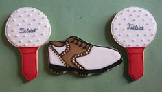 golf cookie cutter | golf cookies golf balls on a tee and a golf shoe all rights reserved ...