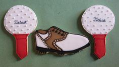 Golf Cookies by ConsumedbyCake, via Flickr