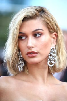 """Hailey Baldwin attends the """"The Beguiled"""" screening during the 70th annual Cannes Film Festival at Palais des Festivals on May 24, 2017 in Cannes, France."""