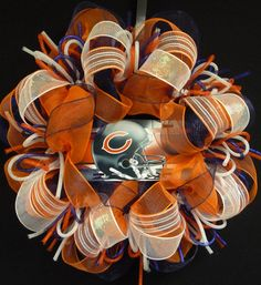 SPORTS WREATHS - Choose Your Team, Click for Details, Football Decorations, Wreaths for the Door on Etsy, $65.00
