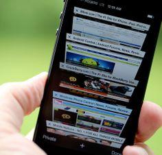 Mobile Safari Tip #1: Swipe via Browser History