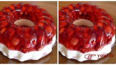 Delicious cheesecake temptation from muffin mold recipe iRecept. Christmas Pavlova, Czech Recipes, Bunt Cakes, Fruit Tart, A Table, Sweet Recipes, Cake Decorating, Good Food, Food And Drink