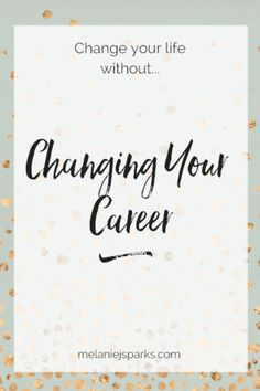 "Hit a wall? Mid-life (or other-age) crisis? I get it. Here's how I figured out I didn't need a ""career"" change."