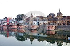 Photo about This is the famous city of Ayodhya the kingdom of the Hindu lord Rama. Image of hindu, temples, river - 71625095 Travel Europe, Taj Mahal, Temple, Spain, Lord, India, France, River, City
