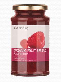 Clearspring - Organic Fruit Spread - Raspberry £6.19 http://www.cococandy.org/clearspring-organic-fruit-spread-raspberry/