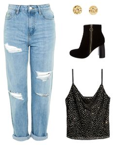 """""""Untitled #1782"""" by mkk-18 ❤ liked on Polyvore featuring H&M, Topshop and STELLA McCARTNEY"""
