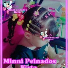 Imagen relacionada Toddler Hair, Love Hair, Cute Hairstyles, Pedicure, Diana, Braids, Victoria, Hair Styles, Pretty