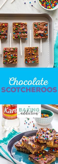 Chocolate Scotcheroos