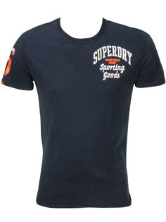 d2966a066 Superdry tee-shirt M10KA017 bleu marine homme