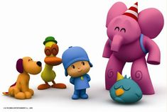 pocoyo cartoons come with different languages audio options. My baby loves it! Eli Pocoyo, Learning Spanish For Kids, Learn Spanish, Baby Boy 1st Birthday Party, Cartoon Shows, Kids Corner, Party Hats, Projects, Bilingual Education