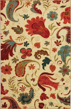 Paisley floral--Kitchen colors