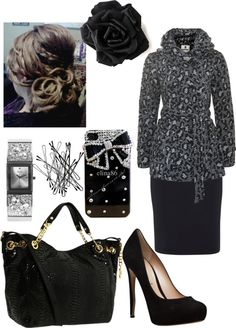 """""""Black and Gray"""" by myyeshuahlives on Polyvore"""