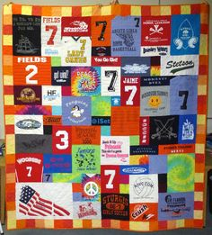 high school graduation quilt