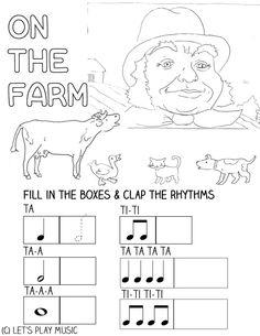 Let's Play Music : Free Printable - Fun Music Theory Worksheet ...