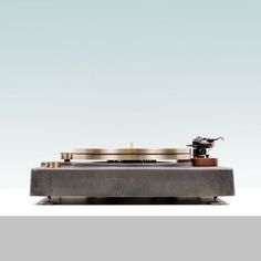 bronze turntable by Fern & Roby