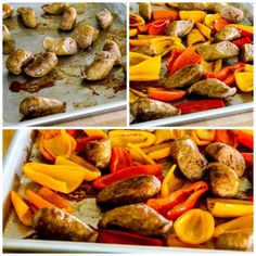 Low-Carb Roasted Italian Sausage and Sweet Mini Peppers Sheet Pan Meal is an easy and delicious dinner for everyone who loves Italian Sausage and peppers! Roasted Italian Sausage, Turkey Sausage, Lasagna Casserole, Sausage Casserole, Stuffed Mini Peppers, Sausage And Peppers, Original Recipe, Sheet Pan, Meals