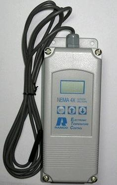 ETC-241000-000 by RANCO. $238.91. Ranco, Invensys, Robertshaw -30°F to 220°F, 120/240V, SPDT, NEMA 4X, 2-Stage, Electronic Temperature Controller