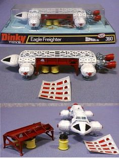Eagle Freighter (Dinky). So wanted this one to match other Eagle.