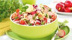 Sałatka z kaszą jaglaną Potato Salad, Salsa, Potatoes, Yummy Food, Ethnic Recipes, Delicious Food, Potato, Salsa Music