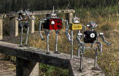 Robots de La Factoría de Androides by Sátrapa