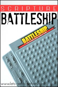 Scripture Battleship from Let's Get Together - awesome game, can be played indoors (in a gym) or outside. It's a blown-up version of the old Battleship game. Perfect for youth activities or a big #fhe! #youthactivity