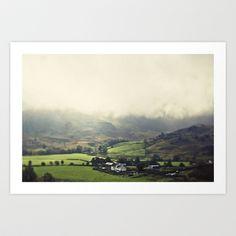 Lake District Farm House Art Print by jphoto - $16.64