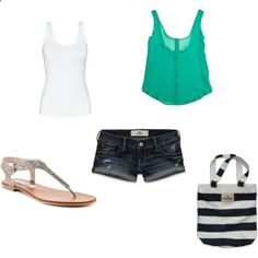 Great outfit for the beach!