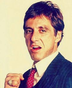 Al Pacino as Antonio Montana in Scarface
