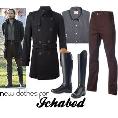 """Ichabod Crane Needs New Clothes"" by callunajean on Polyvore"