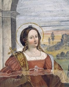 Brescia Musei - Museo di Santa Giulia - Santa Giulia~Saint Julia.  Benedictine(754-760)