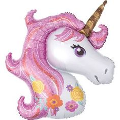 This lovely unicorn balloon is from partydelights.co.uk and would make a magical addition to your unicorn party decorations.