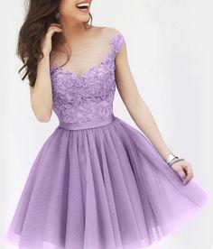 Light purple dress - Mal costume