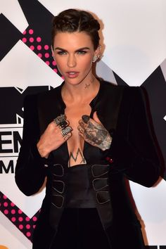 You know what this means, fam. Smoky eyes are going to somehow get even better. | Ruby Rose Is Releasing Makeup With Urban Decay And It's Going To Be Insane