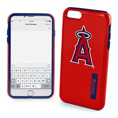 Los Angeles Angels of Anaheim Bold Dual Hybrid iPhone 7 Case