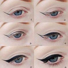 Great eye liner idea