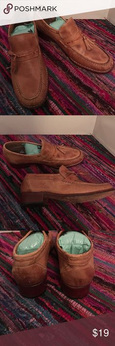 Men's Soft Comfy Leather Hanover Loafer Sz 9D Men's Soft Comfy Leather Hanover Loafer Sz 9D Made in Brazil BEAUTIFUL Used Shoes Hanover Shoes Loafers & Slip-Ons
