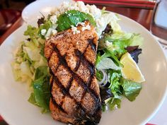 Rosebud Restaurant on Taylor -- Grilled Salmon Salad