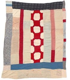 Cassandra Ellis: These are my favourite things - Gee Bend quilts Old Quilts, Antique Quilts, Small Quilts, Vintage Quilts, Colorful Quilts, Barn Quilts, Gees Bend Quilts, African Quilts, Textiles
