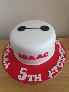 Big Hero 6 cake - For all your cake decorating supplies, please visit craftcompany.co.uk