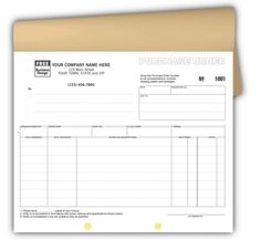 Pocc SnapAPart Purchase Order Carbonless  Purchase Order